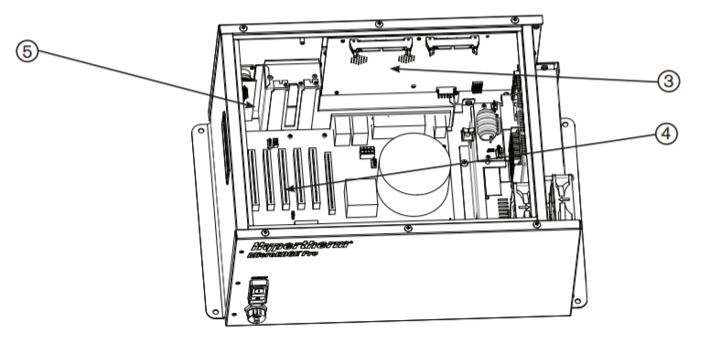Комплект: Сервоплата Picopath с 4 осями, печатная плата преобразователя перемещений 5В (141122)